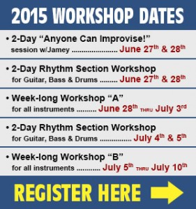 Bass, Drums, Guitar Workshop @ Aebersold Summer Jazz @ University of Louisville | Louisville | Kentucky | United States