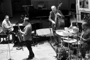Chris Potter, Phil DeGreg, Carl Allen, John Goldsby, Louisville, KY, July 2016